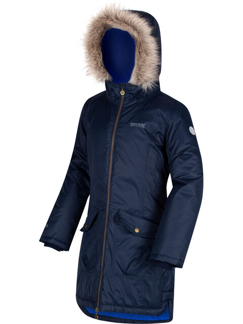 Regatta Hollybank Waterproof Jacket Kids Navy